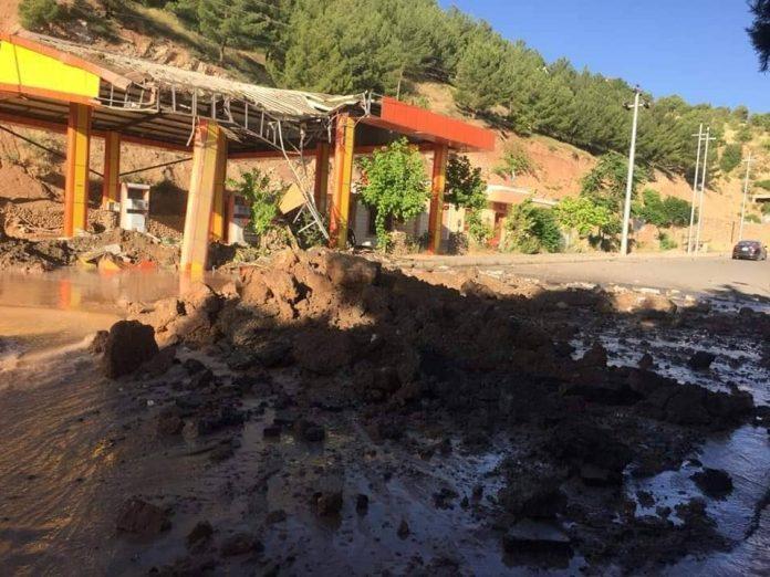 L'aviation turque bombarde une station-service au Kurdistan irakien