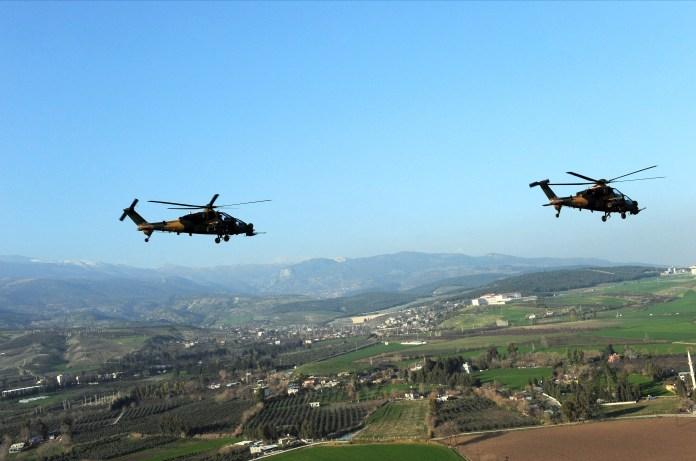 L'armée turque bombarde les régions du Kurdistan