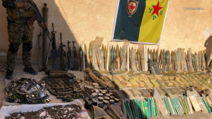Hassaké: Opérations des YPG contre les cellules dormantes de l'EI, dans le nord de la Syrie