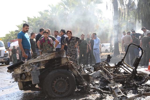 Une voiture piégée a explosé ce dimanche matin en face d'une école, dans la ville kurde de Qamishlo, au nord de la Syrie.