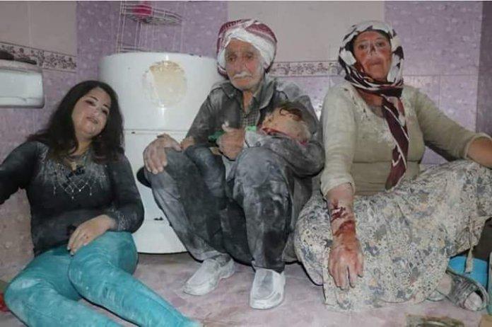 Afrin: 5 Kurdes blessés par l'armée turque