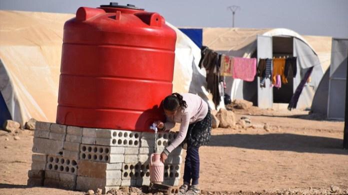 Un nouveau camp pour les déplacés de Serêkaniyê
