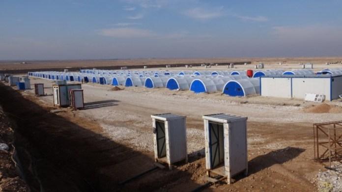 Un nouveau camp pour les déplacés de Girê Spî