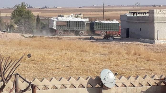 La Turquie pille 20 000 tonnes de céréales à Tall Abyad