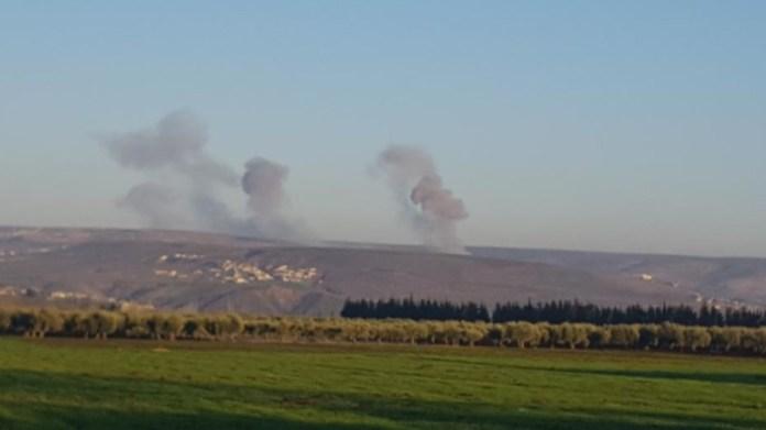 La Turquie bombarde des villages à Afrin