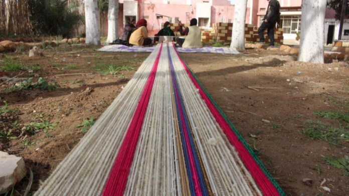 A Tall Hamis, le tissage traditionnel du tapis à l'honneur