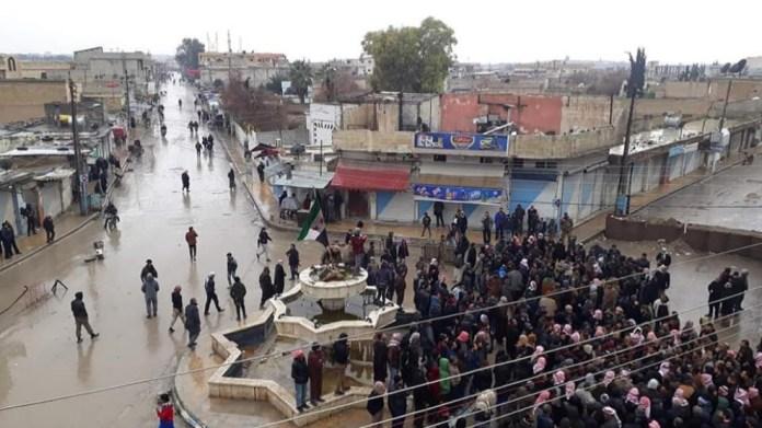 La ville de Girê Spî est occupée depuis plus de 3 mois par la Turquie et ses alliés djihadistes responsables de graves violations des droits humains