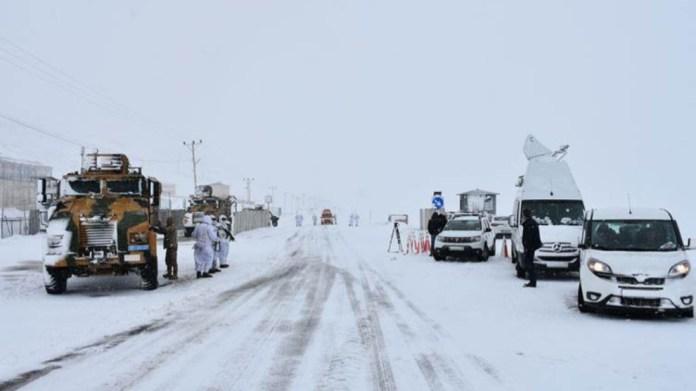 Les réfugiés gelés à Van sont toujours introuvables
