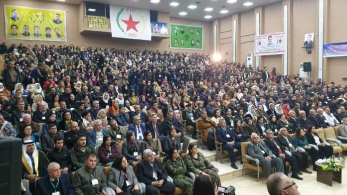 Le PYD appelle à défendre le système démocratique dans le nord de la Syrie comme seule solution à la crise syrienne