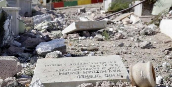 La nouvelle méthode répressive du régime turc : profaner les tombes des combattants kurdes