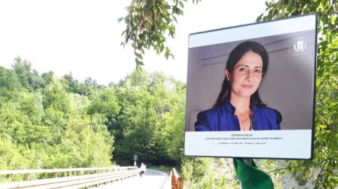 Un pont en Italie baptisé du nom de Hevrin Khalaf