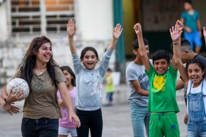 GRECE: Camps de réfugiés kurdes de Lavrio
