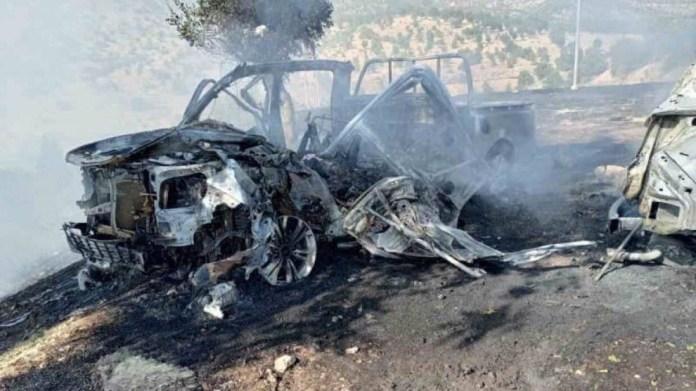 Deux véhicules civils ont été ciblés par l'aviation turque au Sud-Kurdistan. Le nombre exact de morts et de blessés n'est pas encore connu.