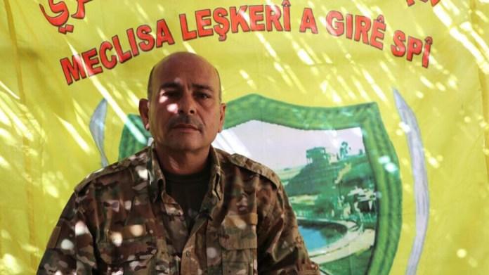 Faisant état d'agressions continues des forces turco-djihadistes contre la ville d'Aïn Issa, le commandant du conseil militaire de Girê Spî a déclaré : « C'est notre droit de défendre notre pays ».