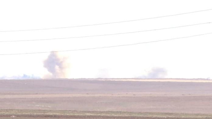 Il a été rapporté par le correspondant de l'agence de presse ANHA que plusieurs villages de Gire Spi (Tall Abyad) ont été bombardés massivement par les forces d'occupation turques et les mercenaires affiliés.