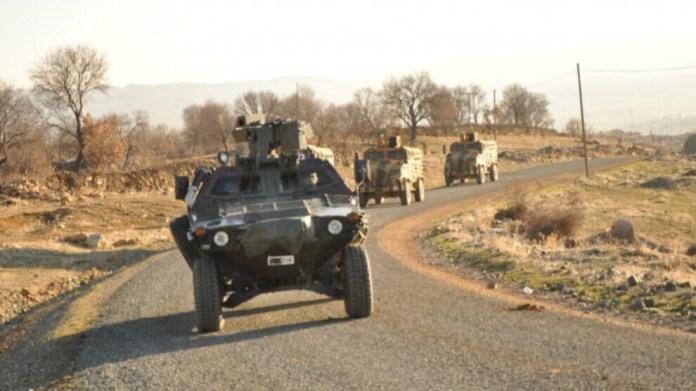Un couvre-feu a été déclaré lundi dans 4 villages des districts de Midyat et Dargeçit, dans la province de Mardin.