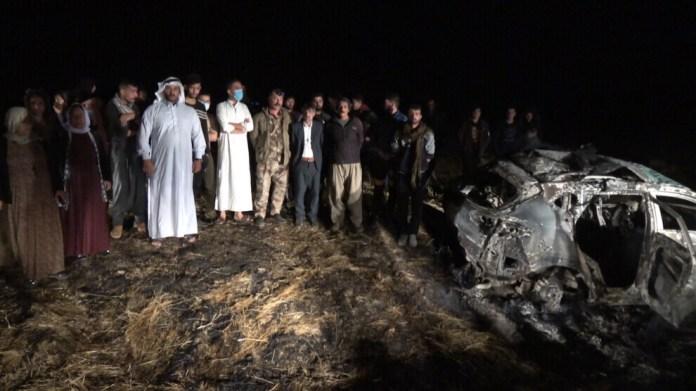 Au moins deux personnes ont été blessées dans une attaque aérienne de l'armée turque, dimanche soir, dans un village de Shengal (Sinjar).