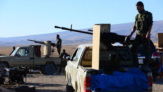 Le PDK déploie d'importantes forces militaires et construit des positions dans des zones contrôlées par le PKK, au Sud-Kurdistan.