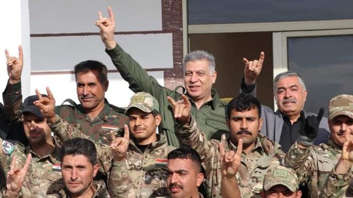 Lors d'une visite du ministre turc de la défense en Irak, l'on a pu constater une activité accrue des milices pro-turques à Kirkouk.