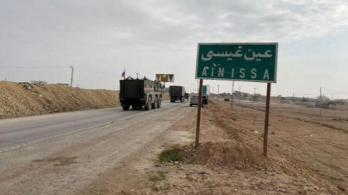 L'armée turque et ses mercenaires djihadistes affiliés ont intensifié les attaques sur Aïn Issa, au nord de la Syrie, ces dernières semaines.