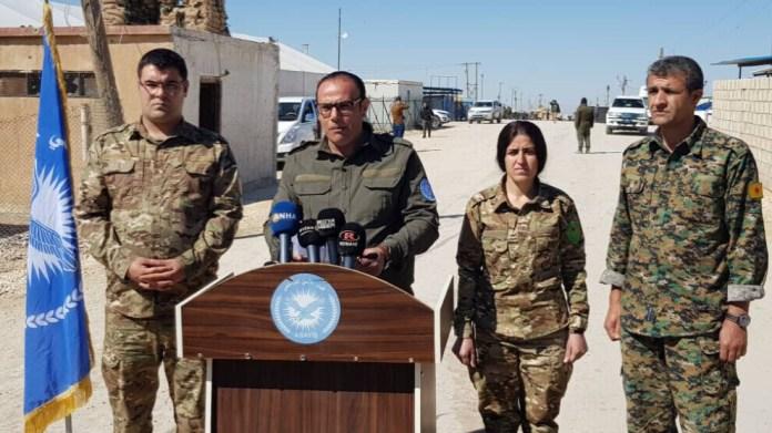 Les forces de sécurité intérieure ont annoncé le lancement d'une « opération humanitaire et de sécurité » dans le camp de Al-Hol, visant à protéger les personnes vivant dans le camp des menaces posées par les membres de l'organisation djihadiste Daesh.