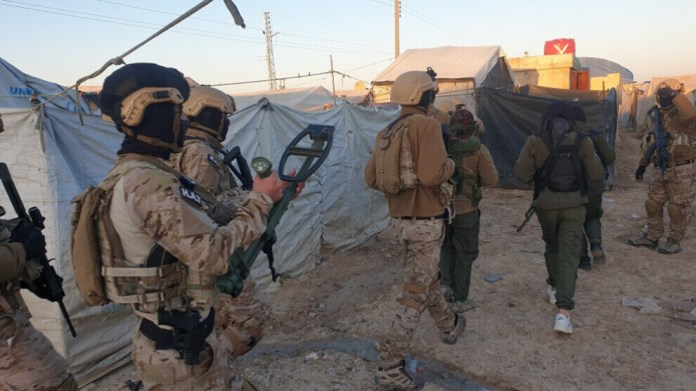 158 djihadistes de l'EI ont été capturés lors de l'opération «humanitaire et de sécurité» menée dans le camp d'Al Hol au cours des 10 derniers jours.