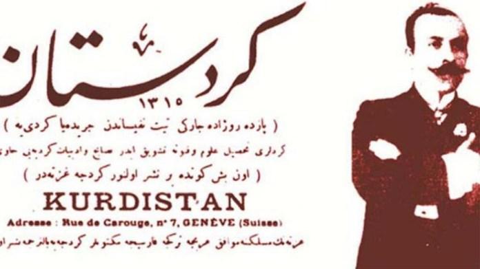 La date à laquelle le premier numéro du journal « Kurdistan » a été publié est célébrée depuis comme la Journée des journalistes kurdes.