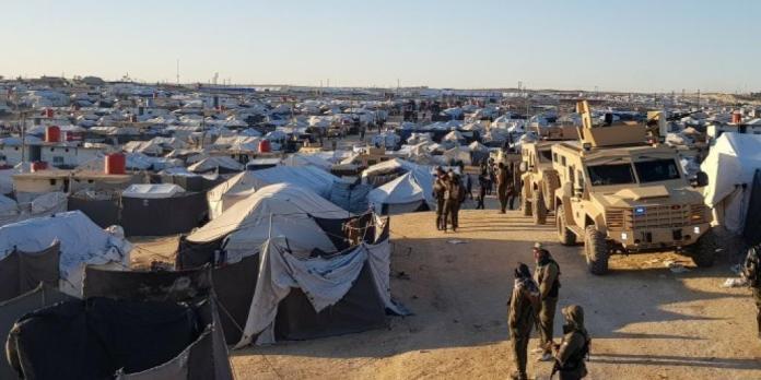 Sixième jour de l'opération anti-Daesh dans le camp d'Al Hol