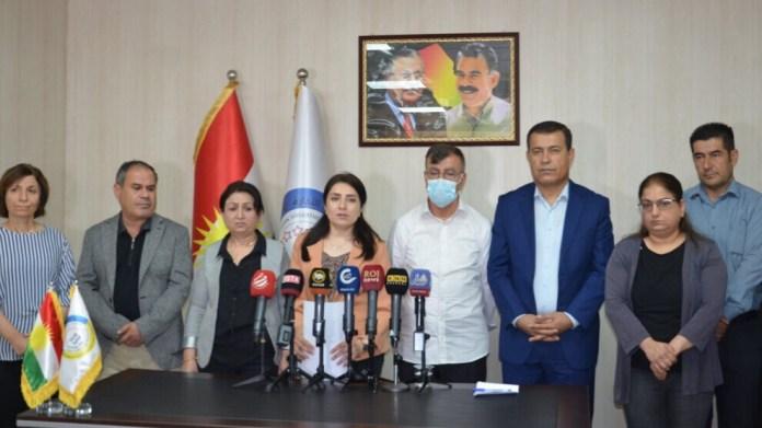 L'AANES et le PYD ont demandé la libération immédiate de leurs représentants arrêtés la semaine dernière par le PDK, au Sud-Kurdistan (nord de l'Irak).