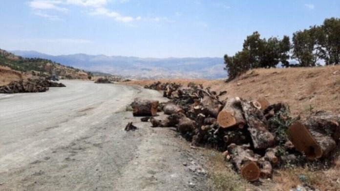 La Turquie mène des opérations de destruction massive dans les régions de Djoudi, Metîna et Heftanîn, au Kurdistan