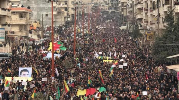La coprésidence du Conseil exécutif de l'Union des communautés du Kurdistan (KCK) a publié une déclaration marquant le 9e anniversaire de la révolution du Rojava.