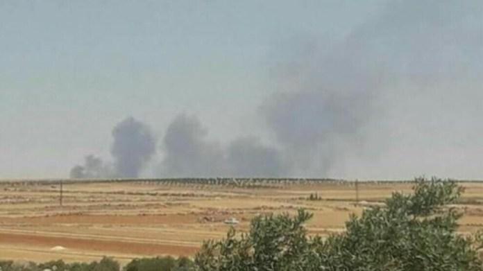 Dans la nuit de jeudi à vendredi, les forces d'occupation turques ont intensivement attaqué des zones de la région d'Afrin
