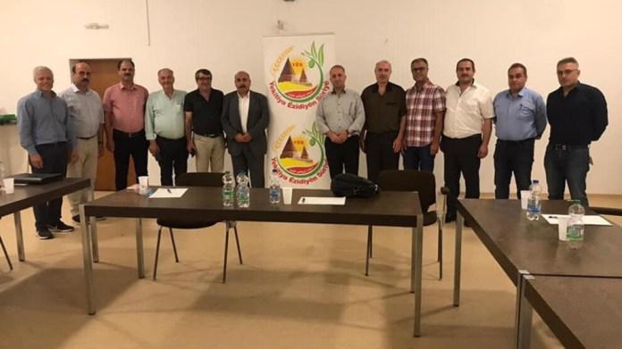 Bedran Çiya Kurd, coprésident du Conseil exécutif de l'Administration autonome du Nord et de l'Est de la Syrie (AANES), a rencontré les membres de la diaspora kurde en Allemagne dans le cadre de sa tournée diplomatique en Europe. « Les Kurdes vivant en Allemagne doivent travailler à la reconnaissance de l'Administration autonome », a-t-il déclaré à cette occasion.