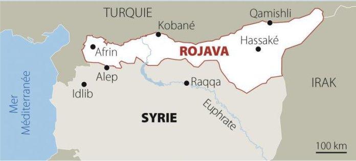 La campagne pour la paix au Kurdistan a rendu hommage à la révolution du Rojava à l'occasion de son 9e anniversaire.