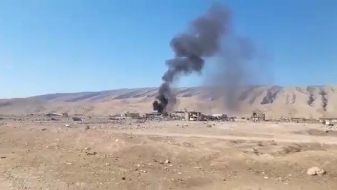 L'État turc poursuit ses attaques génocidairesdans diverses parties du Kurdistan. Un hôpital dans la ville yézidie de Shengal a été bombardé par l'aviation turque.