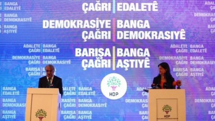 Le HDP a présenté lundi une nouvelle feuille de route. Le document contient des propositions concrètes pour résoudre les conflits