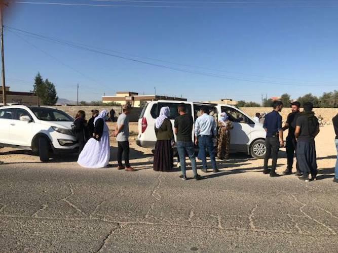 La tentative du Parti démocratique du Kurdistan (PDK, parti du clan Barzani) d'entrer à Shengal avec ses forces armées a conduit à une situation inhabituelle. Les habitants de Shengal ont commencé à affluer vers les points de sécurité publique et les assemblées populaires.