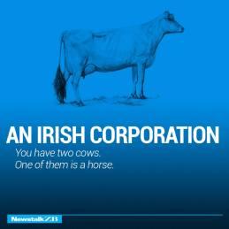 an irish corruption