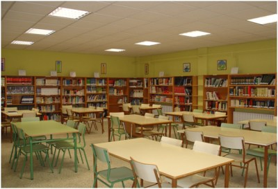 IES Hnos Argensola Biblioteca 1