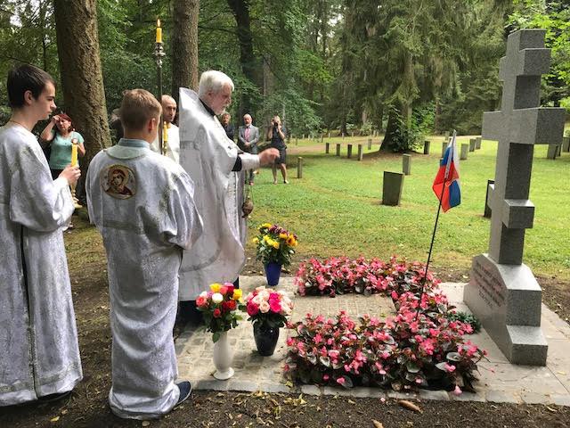 Картинки по запросу Ахене состоялось освящение поклонного креста в память о воинах Первой мировой войны