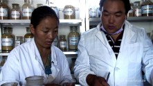 Chunga Lhamo und Ihr Mann Yeshi
