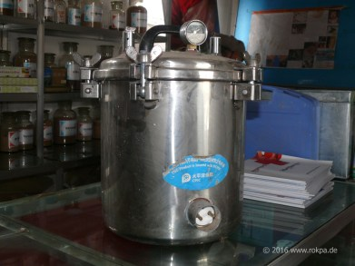 Arztpraxis Chunga Lhamo