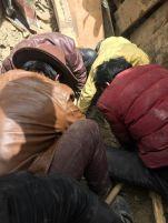 Retreathaus Dolma Lhakang Wasserschaden 05