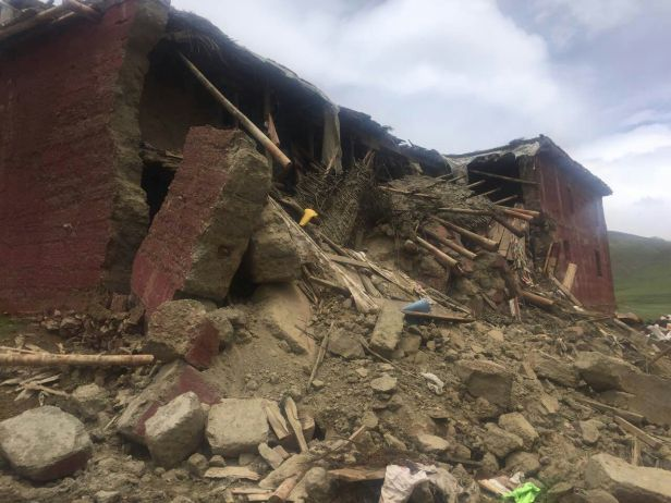 Retreathaus Dolma Lhakang Wasserschaden 14