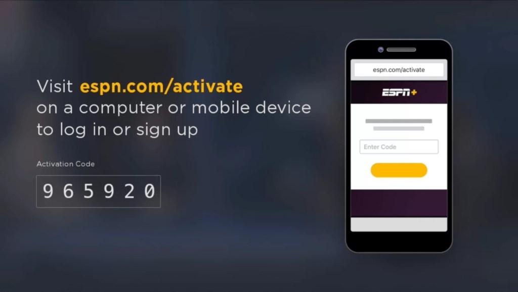 Activate ESPN