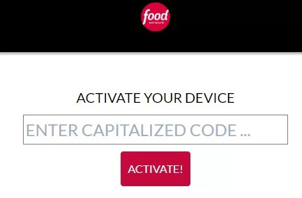 Food Network on Roku Activation Code