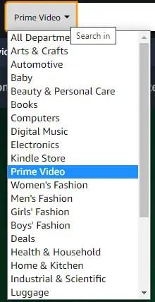 Select prime video