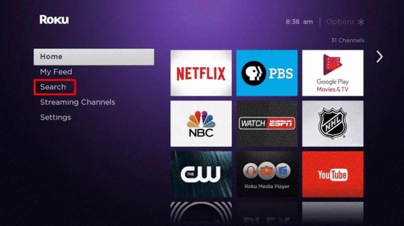 Search - FRNDLY TV ON ROKU