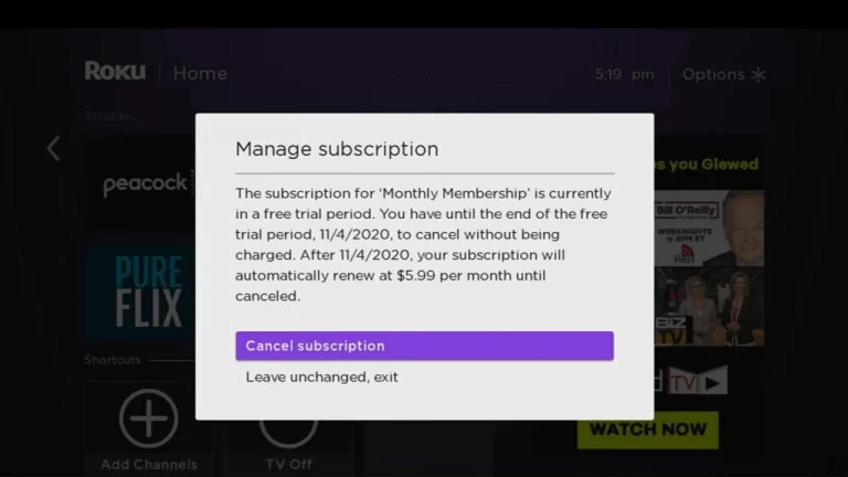 Cancel subscription - How to Cancel BritBox Subscription on Roku