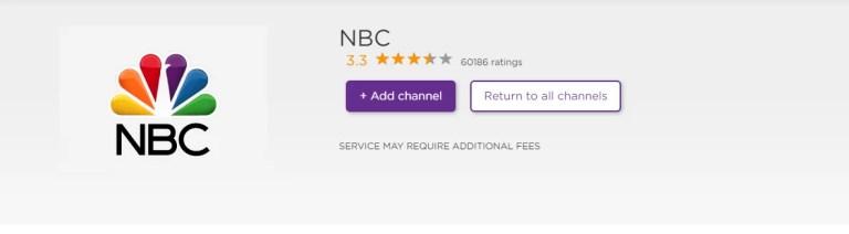 NBC on Roku